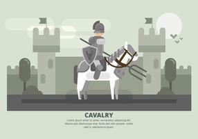 Ilustração da cavalaria vetor