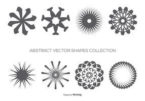 Coleção abstrato de formas vetoriais vetor