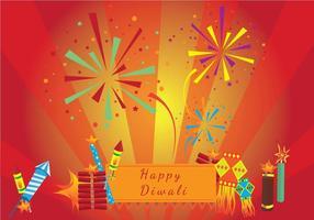 Feliz Festival Diwali vetor