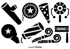 Ícones do vetor do fabricante de ruído