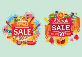 Foguete colorido para celebrar a venda de Diwali