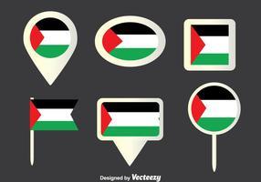 Vetor da coleção da tira de Gaza