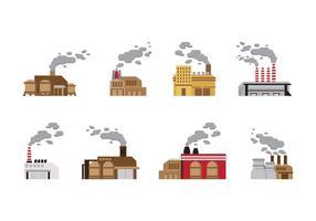 Vetor da Indústria de Pilha de Fumo