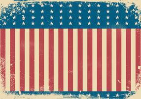 Fundo do Dia da Independência do Estilo de Grunge vetor