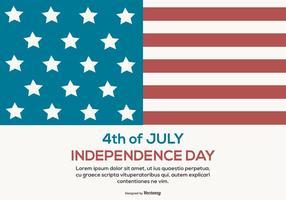 Fundo do Dia da Independência vetor