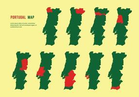 Vector do mapa de Portugal