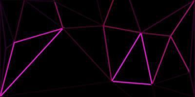 textura de triângulo poli rosa escuro