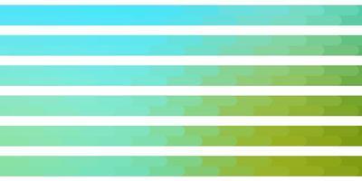 modelo azul e verde claro com linhas.
