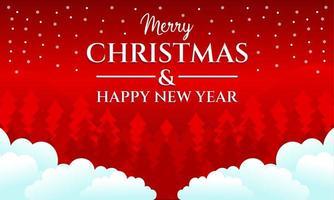 fundo feliz natal e feliz ano novo
