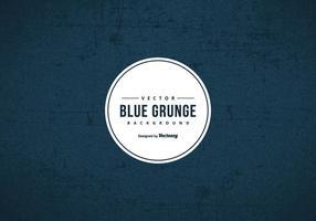 Fundo azul escuro da textura do grunge vetor