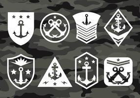 Ícones do vetor USMC