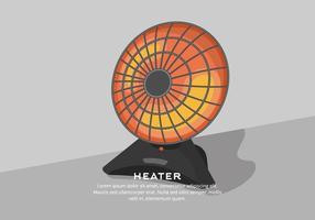 Fundo do aquecedor vetor