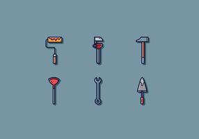 Vetor de ferramenta de comerciante livre