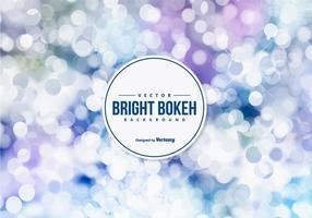 Belo fundo brilhante de Bokeh vetor