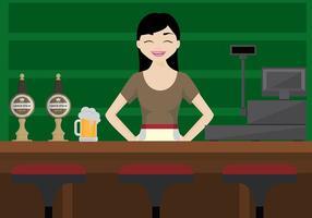 Cerveja bomba bar vector livre