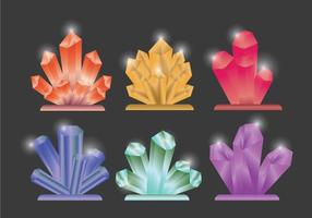 Conjunto de vetores de quartzo
