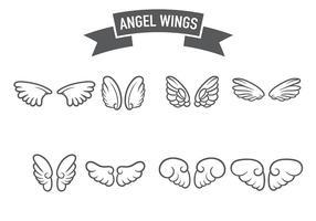 Anjo Wings Icon Vector