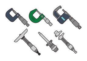 Conjunto de vetores micrométricos