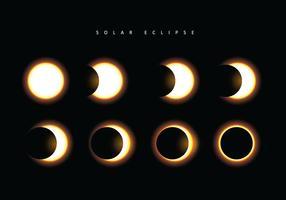 Vetor do Eclipse Solar