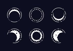 Vetor de eclipse solar grátis
