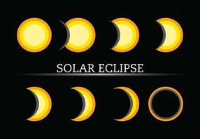 Vetores de ícones Eclipse