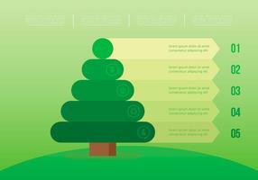 Vida da Natureza. Reflorestamento. vetor