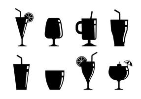 Ícone de vetor de bebidas