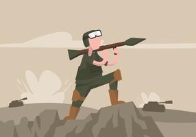 Ilustração do RPG vetor