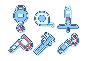 Vetores de micrómetro proeminentes gratuitos