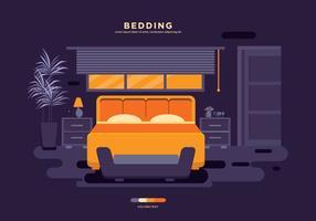 Vetor de cama livre