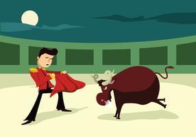 Ilustração do vetor Bull Fighter