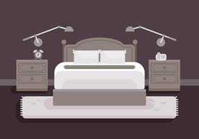Ilustração de cama vetor