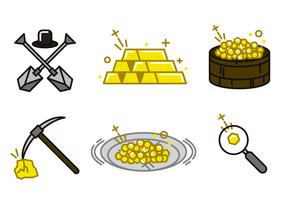Vetor da Rúpia do Ouro