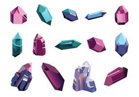 Vetor de bloco de quartzo