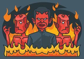 Ilustração vetorial de Lucifer vetor