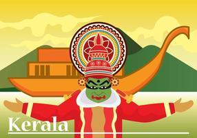 Ilustração vetorial de Kerala