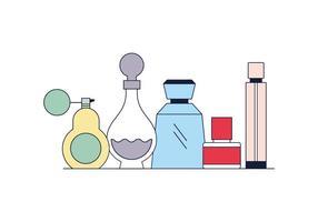 Vetor de perfumes grátis