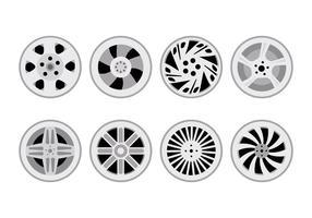 Vetor hubcap