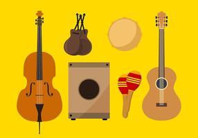 Instrumento de Espanha Vector grátis