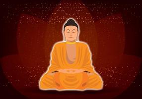 Posição Buda Lotus vetor