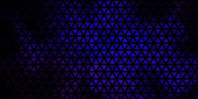 pano de fundo azul escuro com linhas, triângulos.