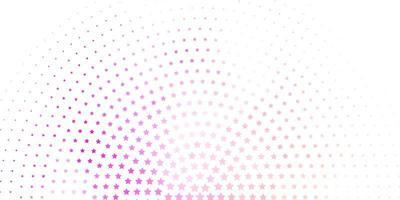 padrão de rosa claro com estrelas abstratas.