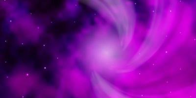 textura rosa com belas estrelas.