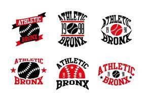 Vetor de logotipos de baseball bronx