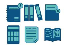 Conjunto de vetores de contabilidade
