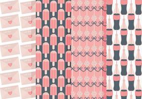 Conjunto bonito de padrões do vetor