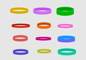 Coleção de vetor de pulseira