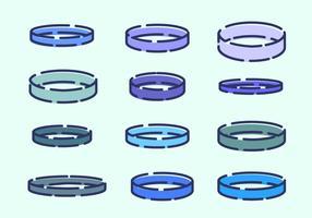 ícone do vetor pulseira
