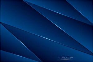 fundo azul metálico moderno vetor