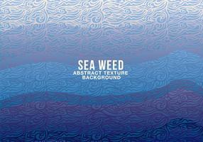 Fundo abstrato de algas marinhas vetor
